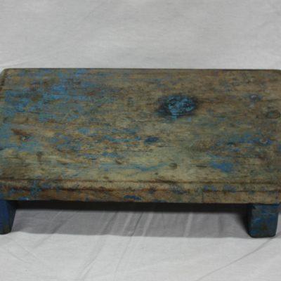 Uniek vintage houten tafeltje