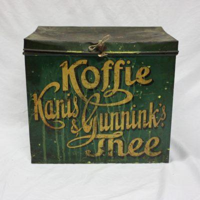 Robuuste industrieele koffie blik kanis en gunnik