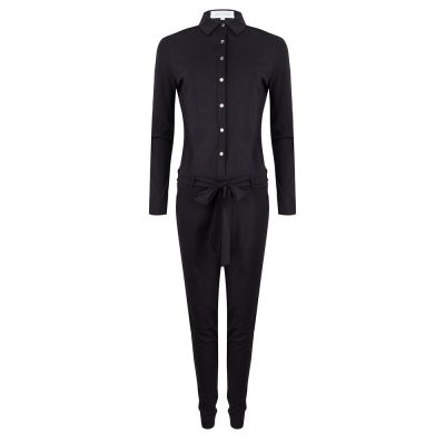 Zwarte jumpsuit Jacky Luxury