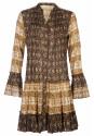 Trendy aardetinten tuniek
