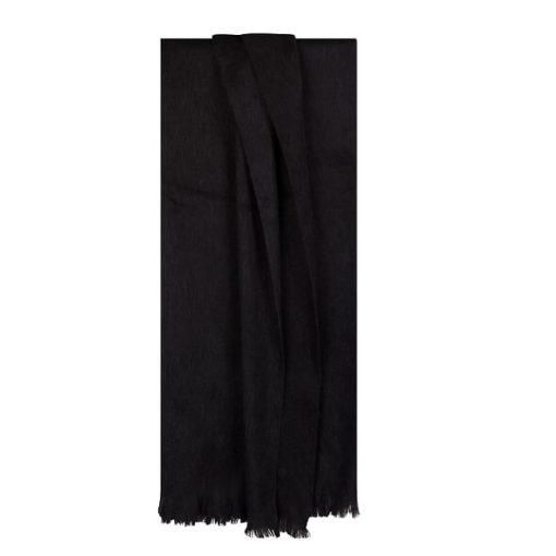 Trendy zwart bufandy sjaal