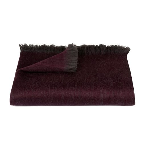 Bufandy Shawl Fabian Mulberry Purple