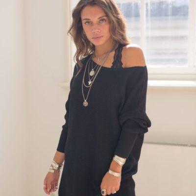 Trendy Moost Wanted gebreide jurk online kopen