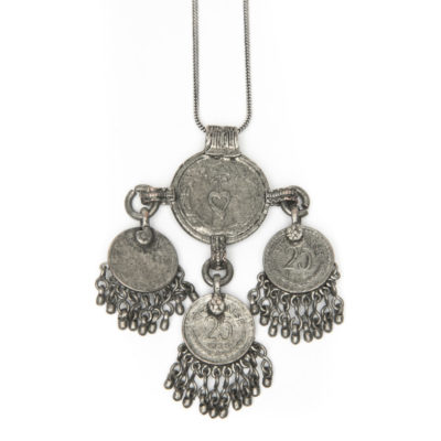 Moost Wanted Raelyn Coin Necklace