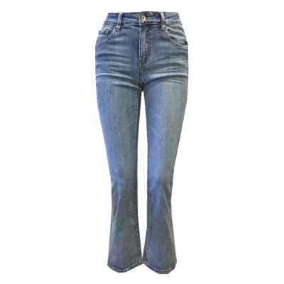 flared jeans strech broek dames