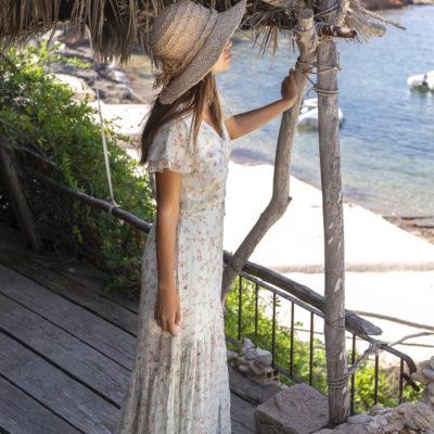 zomer strand jurk zomerjurk Isla ibiza bonita