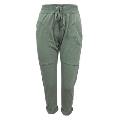broek dames groen