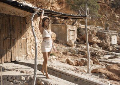 Moost Wanted Aria Basic Skirt Beige