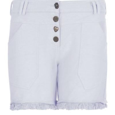 Isla Ibiza Bonita Short Frayed Pants Lila – Purple