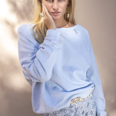 Isla Ibiza Bonita Sweater Baby Blue