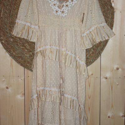 Dress Miharado Beige
