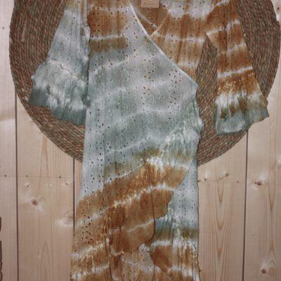 Dress Mica Rust/Green