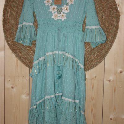 Dress Miharado Turqois