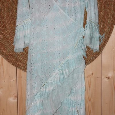 Dress Meca Turqois