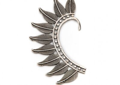 Moost Wanted Tribal Earcuff Silver
