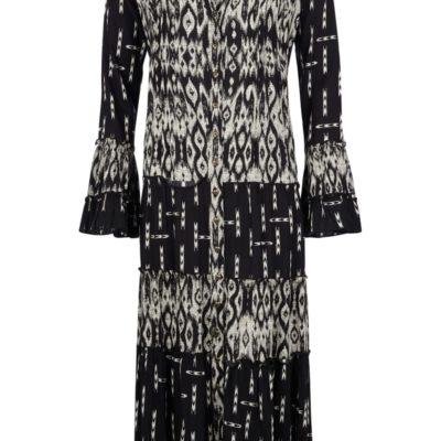Isla Ibiza Bonita Tunic/ Dress Creme/Black