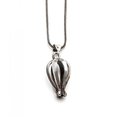 Moost Wanted Crown Necklace 65CM Silver