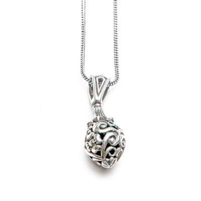 Moost Wanted Floral Necklace 65CM Silver