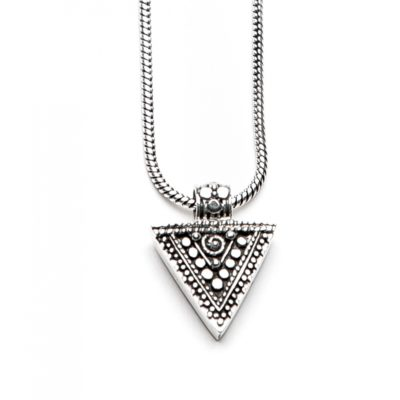 Moost Wanted Triangle Necklace 50CM Silver