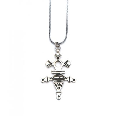 Moost Wanted Tribal Necklace 65CM Silver