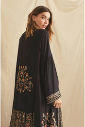 NKN Kimono Tandil Zwart