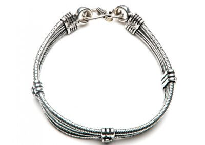 Moost Wanted Agnes Double Bracelet Silver