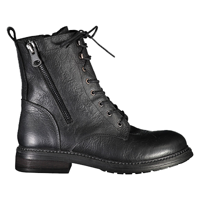 Juul & Belle Military Boots Black