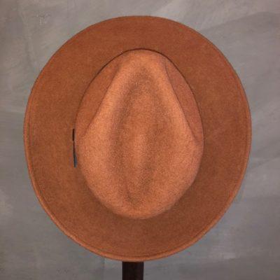 Bufandy Hat Fedora Brique