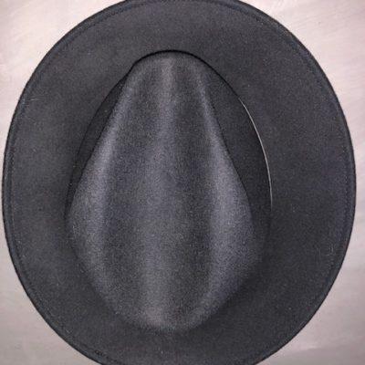 zwarte hoed vilt