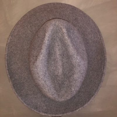 Bufandy Hat Fedora Grey